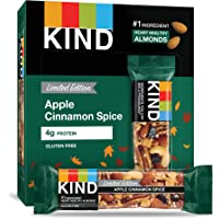 KIND Apple Cinnamon Spice Bars, 12Count