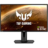 "Asus TUF Gaming VG27AQ 27"" Monitor, 1440P WQHD (2560 x 1440), IPS, 165Hz (Supports 144Hz), G-SYNC Compatible, 1ms…"