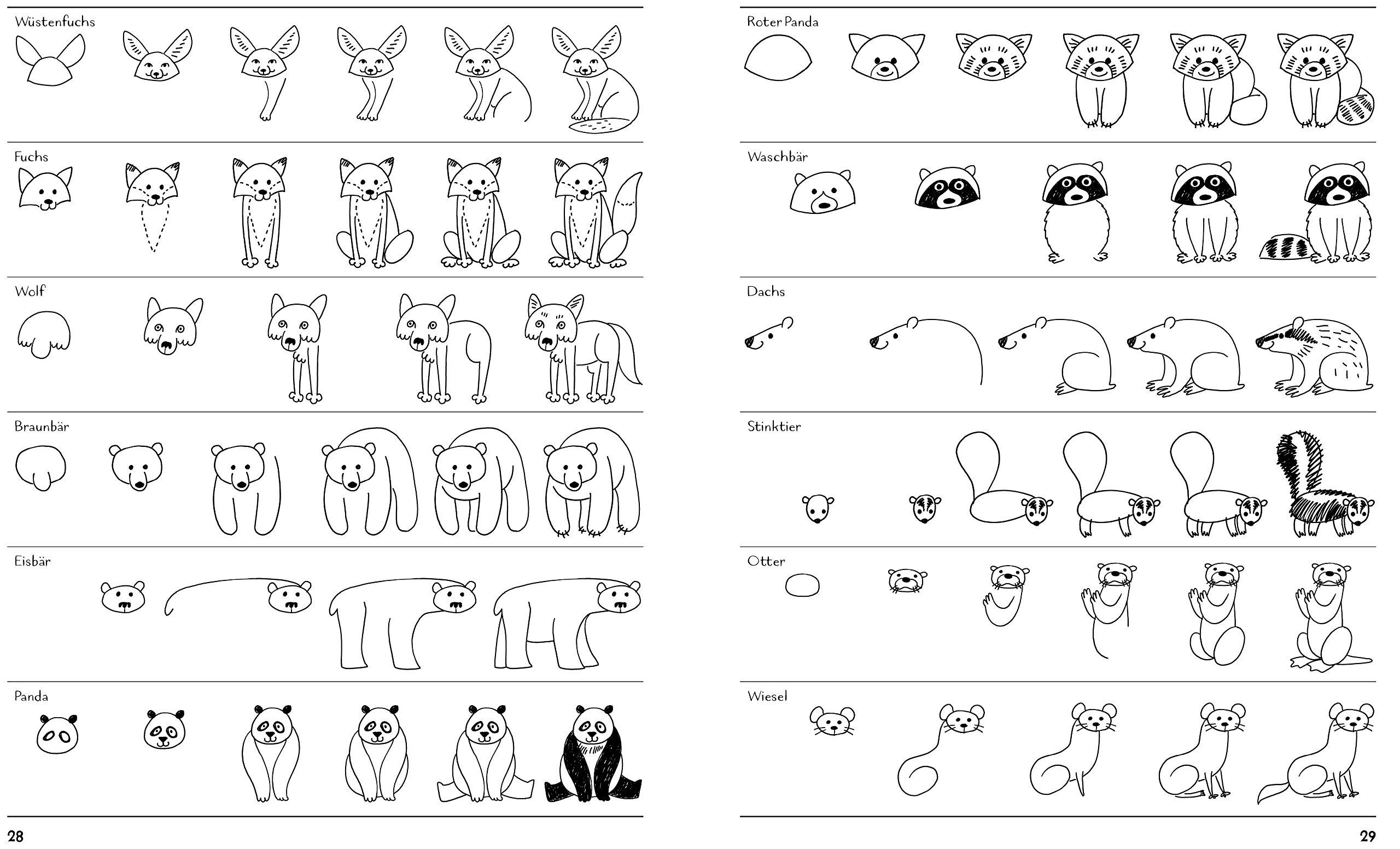 Ich Kann 1000 Dinge Zeichnen Kritzeln Wie Ein Profi Ganz
