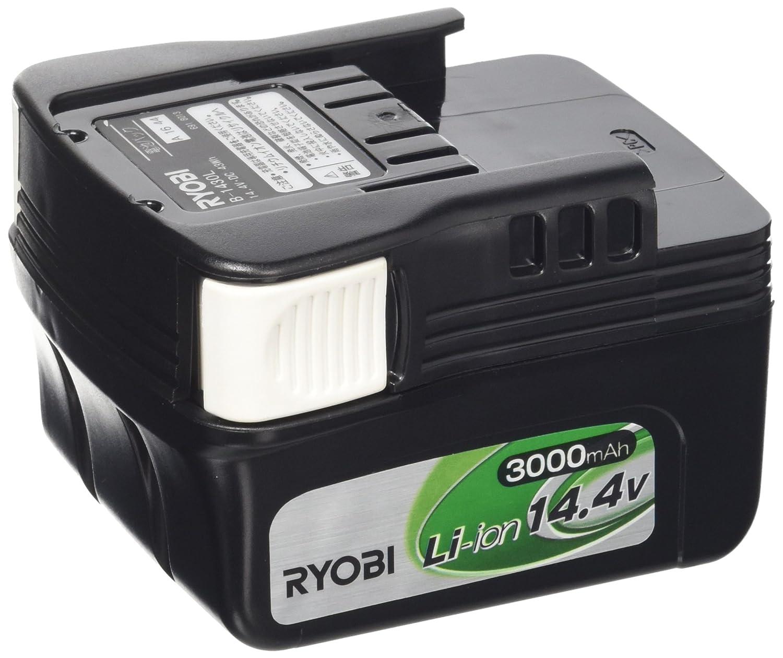 リョービ(RYOBI) 電池パック リチウムイオン 3000mAh B-1430L スライドタイプ 14.4V 6406411 B002P95VHQ