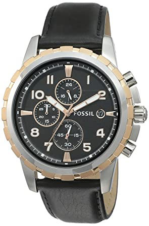 768143686bf1 Buy Fossil Chronograph Black Dial Men s Watch - FS4545 Online at Low ...