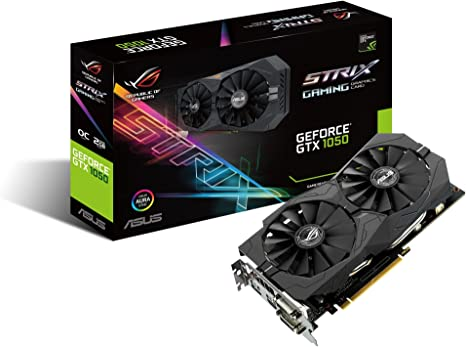 ASUS STRIX-GTX1050-O2G-GAMING - Tarjeta gráfica (NVIDIA, GeForce ...