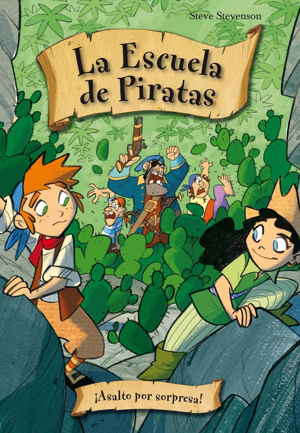 Download Escuela de piratas 6. Asalto a sorpresa (Escuela De Piratas / Pirate School) (Spanish Edition) (La Escuela de Piratas / Pirate School) PDF
