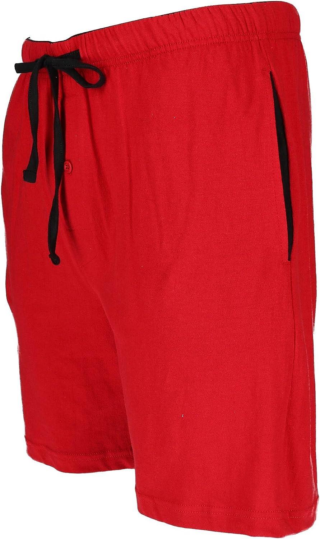 Hanes Mens Big and Tall Knit Sleep Shorts