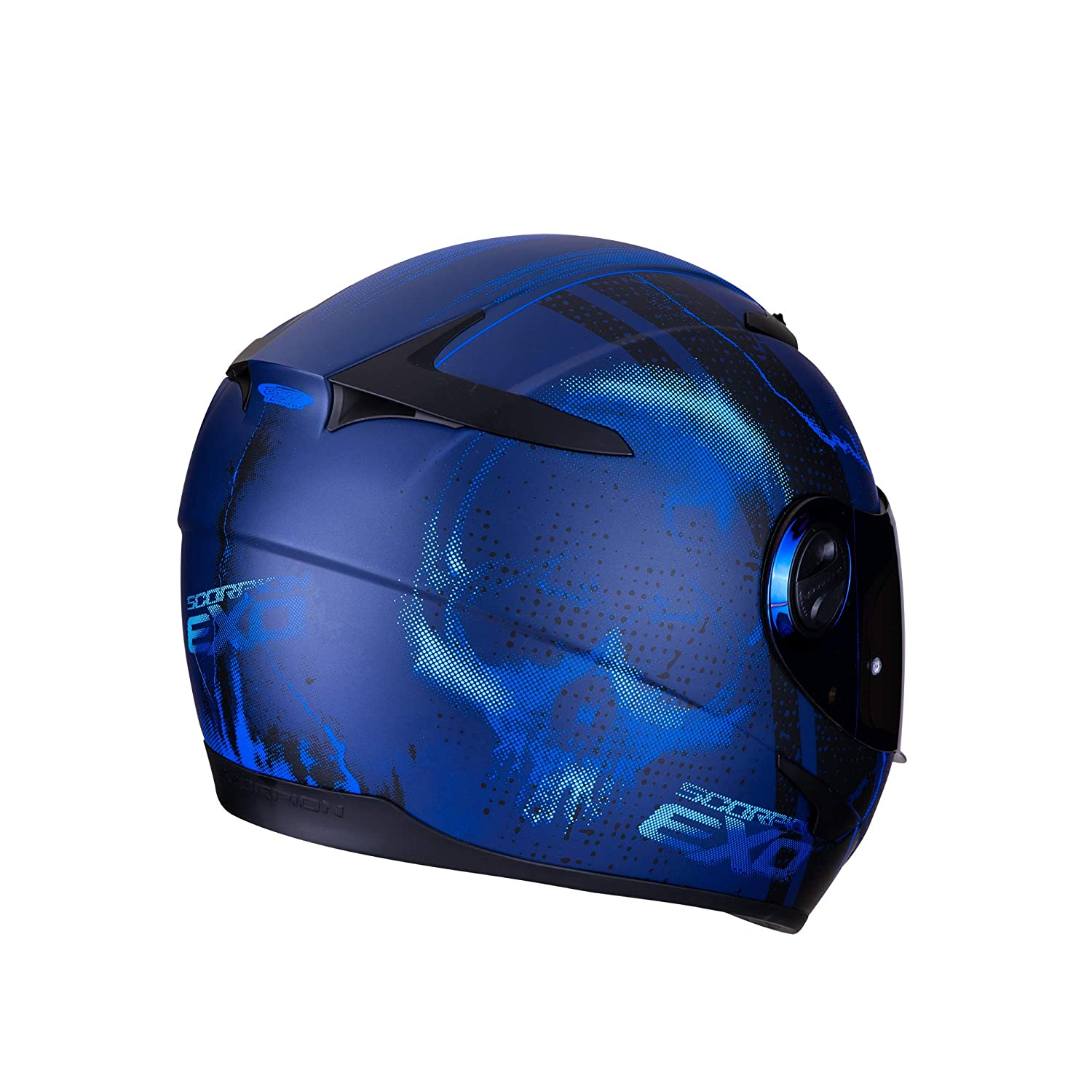 Scorpion EXO-490 DAR Matt Blue XL