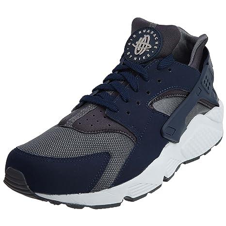 Nike Air Huarache Uomo Scarpe sportive - GRIGIO SCURO BLU NOTTE 08554508783