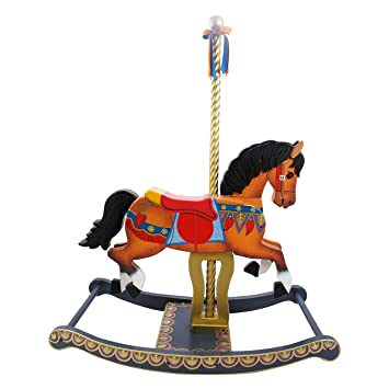 Teamson Kids Td 11677a Wooden Rocking Horse For Kids Multicoloured