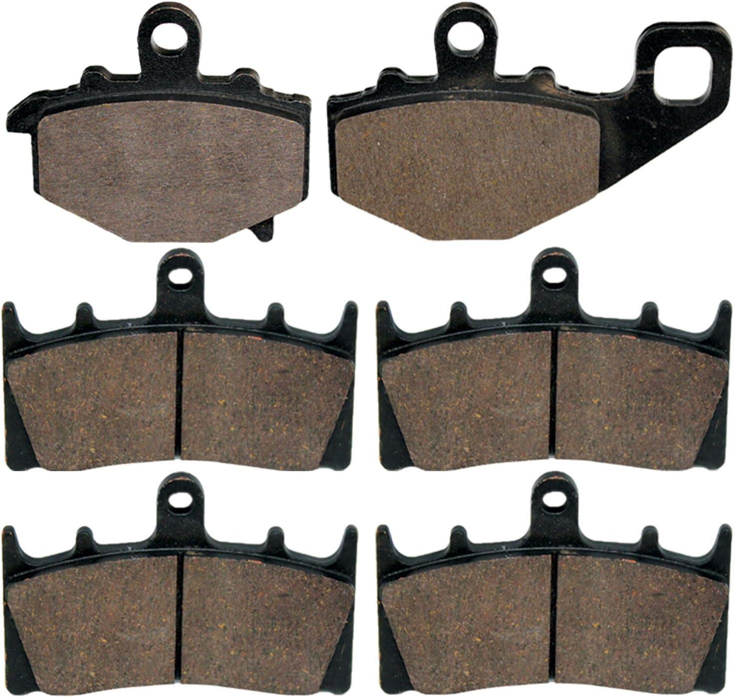 FRONT BRAKE PADS FITS KAWASAKI ZX600 NINJA ZX6R ZX-6R 1998-2002 FRONT PADS