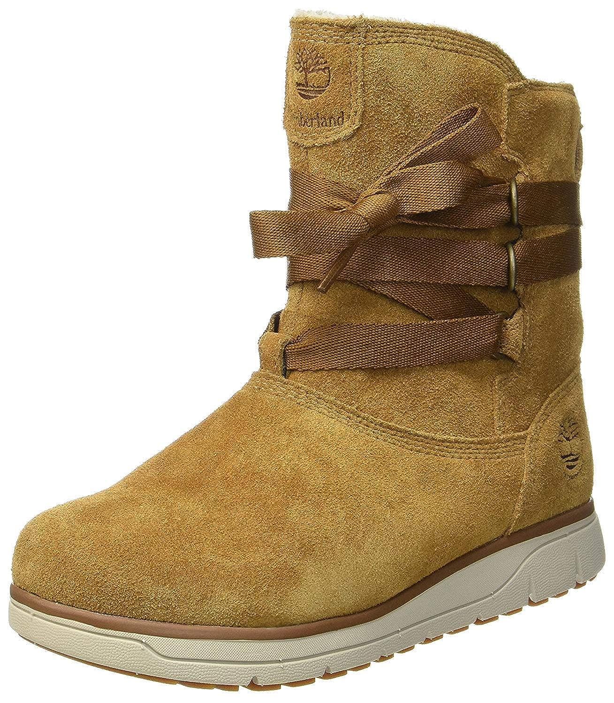 Waterproof Boot Medium Brown Suede