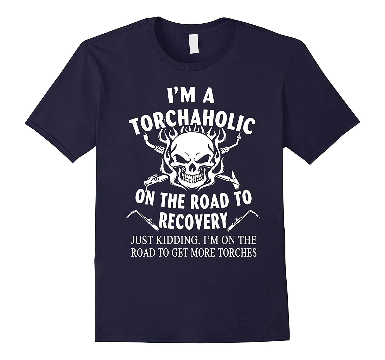EOD shirt, I'm a torchaholic on the road to recovery