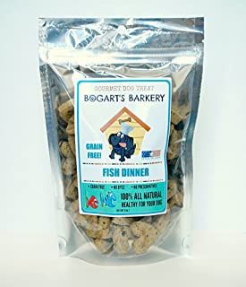 product image for GRAIN-FREE FISH DINNER GOURMET DOG TREATS 8 oz.