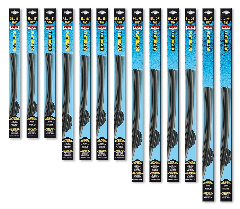 Par Kit Escobillas Limpiaparabrisas NLGI tamaños 610 x 460 mm para ...