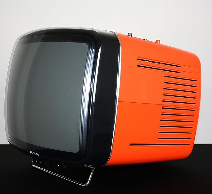BRIONVEGA Doney PAL CRT 14 Orange: Amazon.es: Electrónica