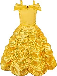 Pettigirl Ragazze Principessa Vestito Costume  Amazon.it  Abbigliamento 19ab5ee5e95c