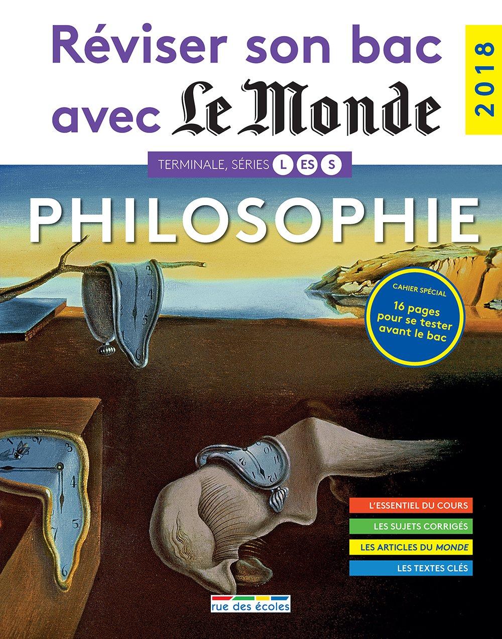 Philosophie Terminale, séries L, ES, S Réviser son bac avec le Monde: Amazon.es: Collectif, Stéphane Ernet, Eric Delassus, Eric Fourcassier, Sybil Gerault: ...