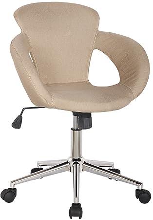 SixBros. Variante Stamm Bürostuhl Design Rollhocker – 1 Beige ...