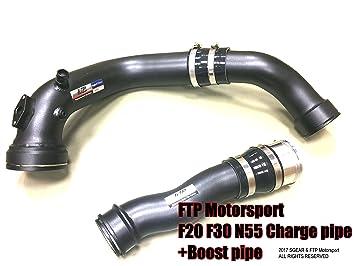 Spacegear Tubo de carga + Boost Tubo Kit para BMW F20 F30 N55 M135i M235i 335i 435i: Amazon.es: Coche y moto