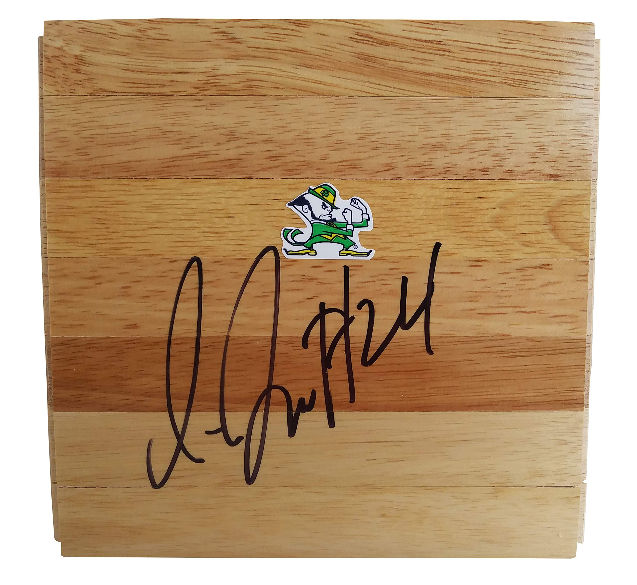 Notre Dame Fighting Irish Jewell Loyd Autographed Hand Signed 6x6 Parquet Floorboard with Proof Photo, Team USA, Seattle Storm, COA Basketball Floor