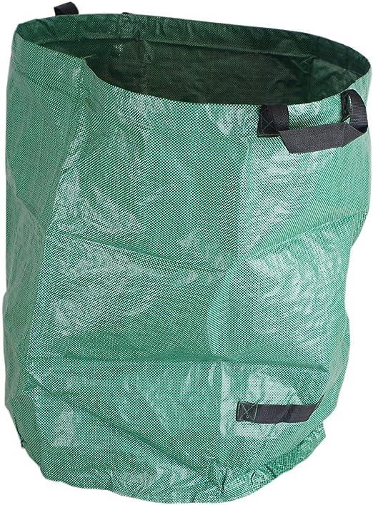 Saco plegable para desechos de jardín, 272 litros, saco para hojas de césped, para hojas: Amazon.es: Jardín