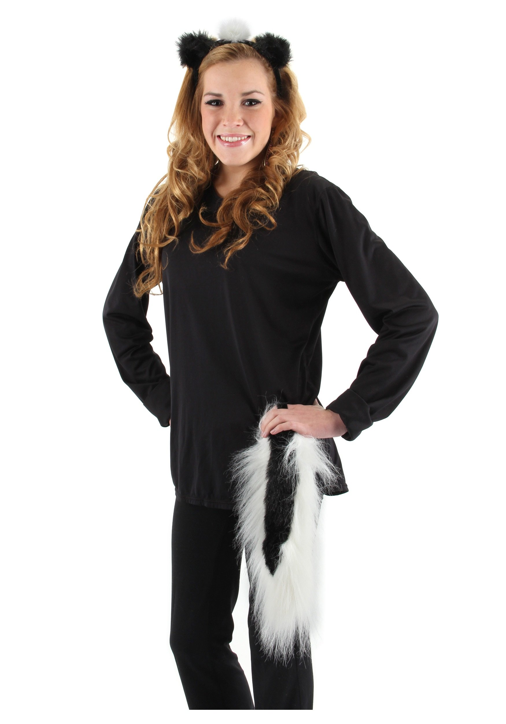 elope Skunk Ears and Tail Set
