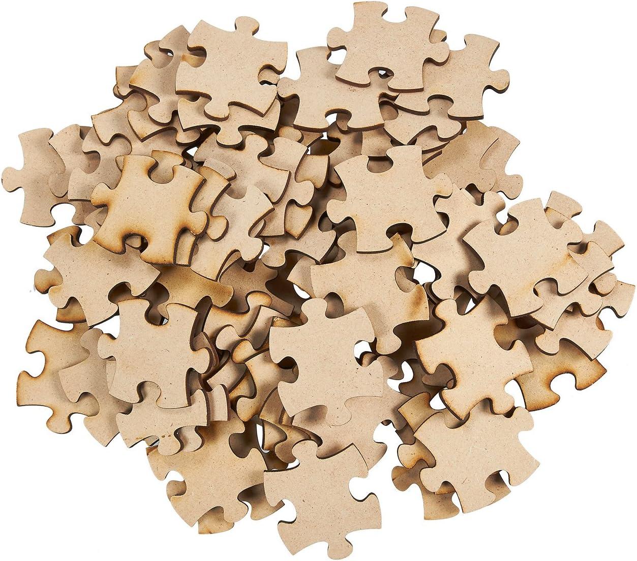 Plain Wood Puzzle 8 X 10 9 large pieces