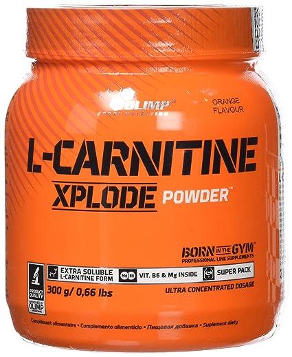 Olimp Sport Nutrition L-Carnitine Xplode Powder Suplemento Dietético, Sabor Cereza- 300 gr