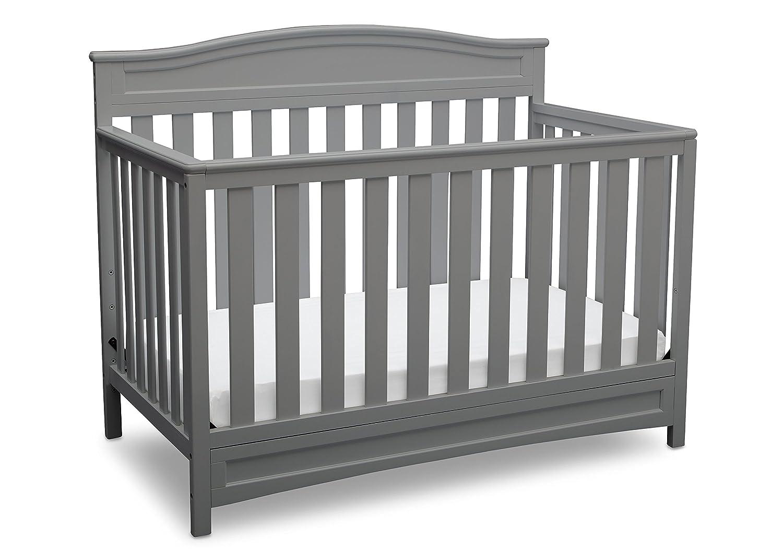 Delta Children Emery 4-in-1 Convertible Baby Crib, Dark Chocolate 7380-207