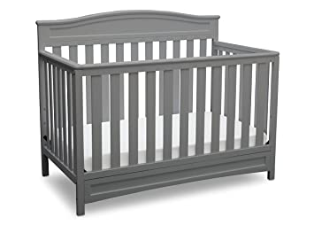 Amazoncom Delta Children Emery 4 In 1 Convertible Baby Crib Grey