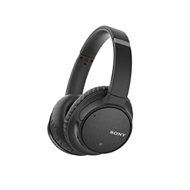 Sony Noise Cancelling Headphones WH-CH700N: Wireless Bluetooth Over the Ear Headphones with Mic and One Touch Control AINC Digital Noise Cancellation – Black