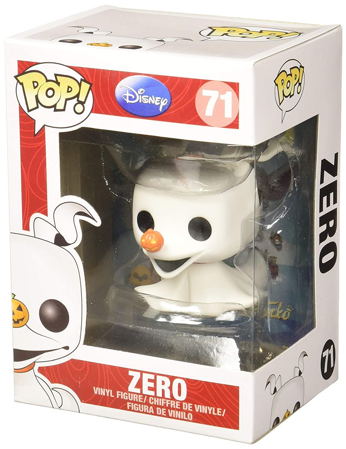 Funko POP Disney The Nightmare Before Christmas: Zero 3406 Accessory Toys & Games Miscellaneous