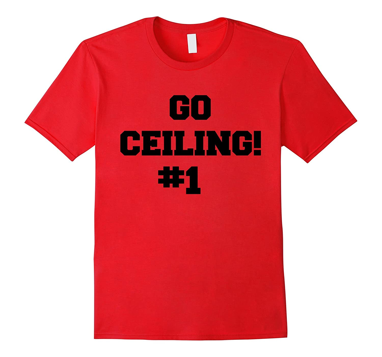 Ceiling Fan T-Shirt / Go Ceiling Funny Halloween Costume-FL
