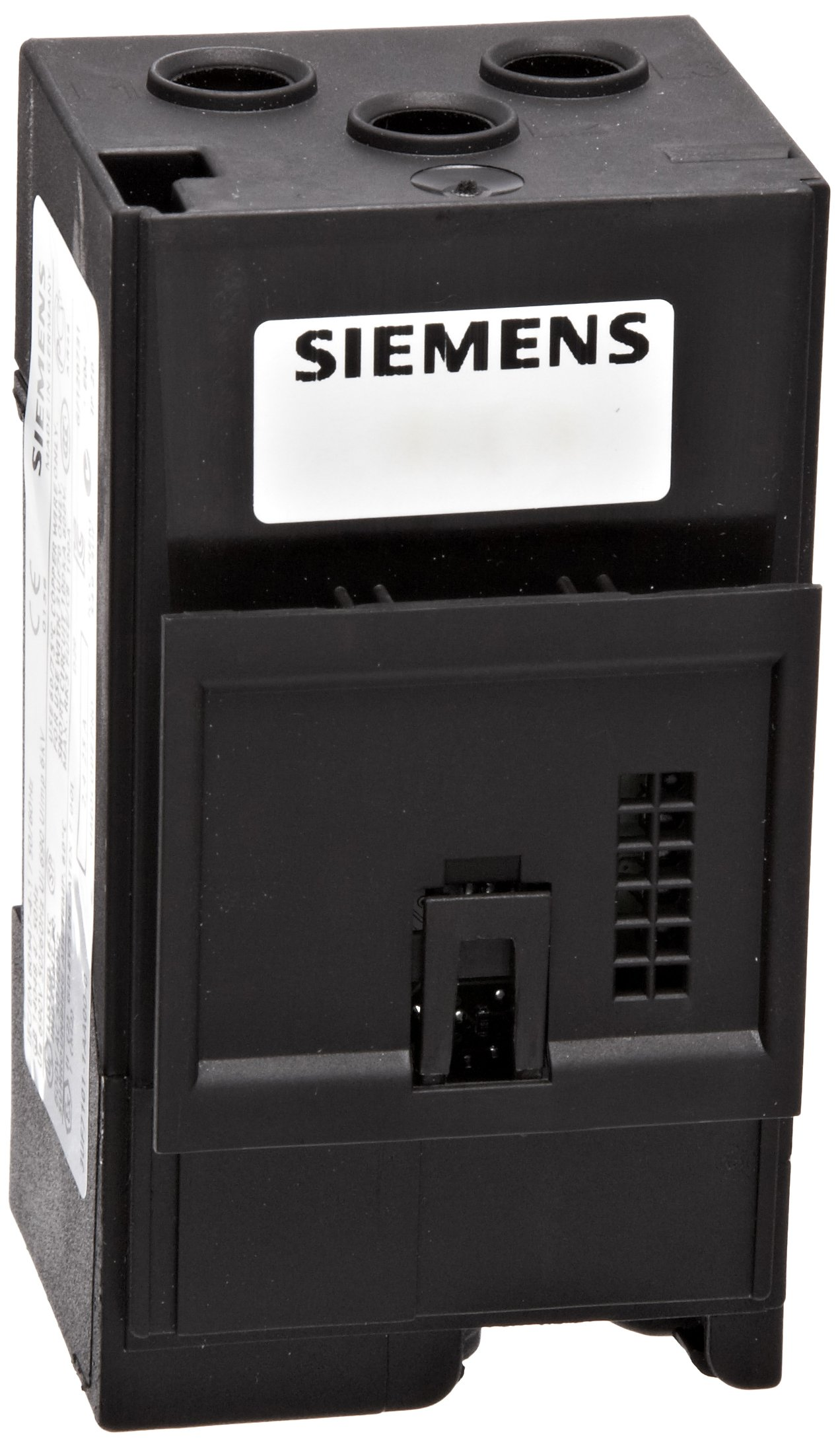 Siemens 3UF7 101-1AA00-0 Motor Control Device Current Measuring Module, Straight Through Transformers, 45mm Width, 2.4-25A Current Setting
