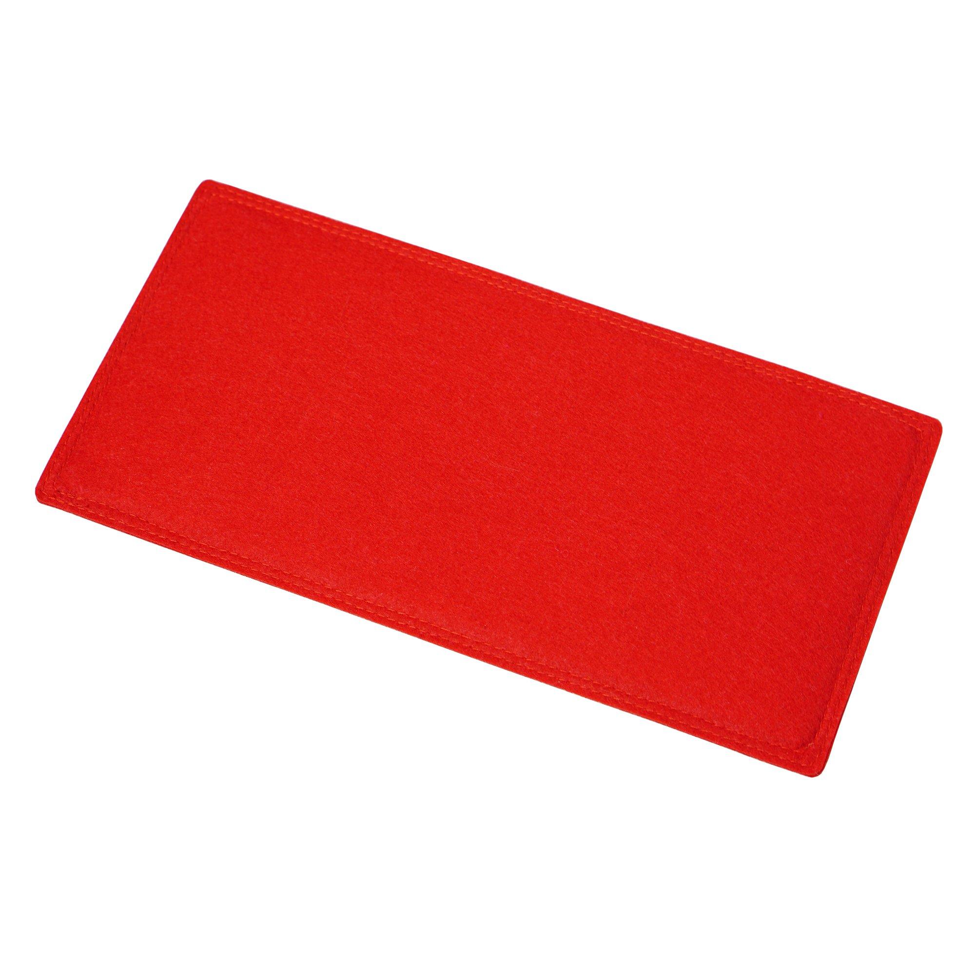 Red Felt Bag Base Shaper for LV Speedy 30