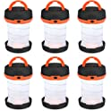 6-Pack Shine Hai Camping Lantern Flashlight