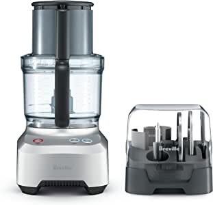 Breville The Kitchen Wizz 11 Food Processor, BFP680BAL - Brushed Aluminium