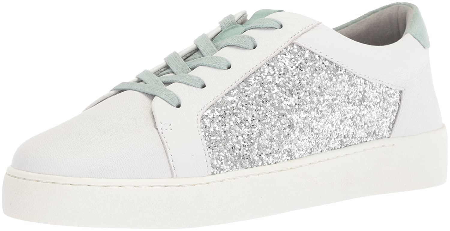 Nine West Women's Pereo Leather Sneaker B074YBWLJX 6 B(M) US|White/Multi Leather