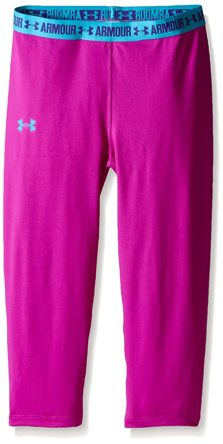 Under Armour Girl's Base Layer Girl's Base Layer Capri - Strobe, Youth/X-Small Youth/X-Large 1271021