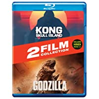 Monster Mayhem! The Adventures 2 Movies Collection: Kong Skull Island + Godzilla: (2014) (2-Disc)