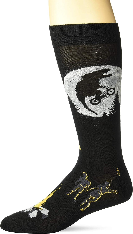 K Bell Socks mens Pop Culture Slapstick Fun Novelty Crew Socks Casual Sock