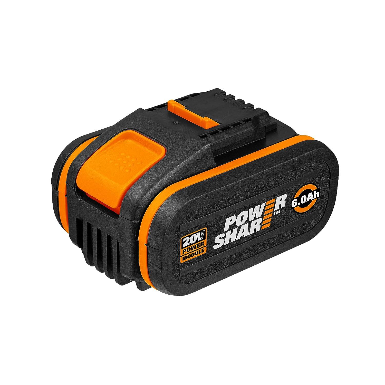 WORX WA3641 - Batería de litio de 20 V 6,0 Ah