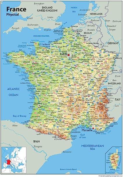 Cartina Politica Francia Con Regioni E Capoluoghi.Deviare Splendente Diagonale Cartina Della Francia Con Regioni Amazon Settimanaciclisticalombarda It