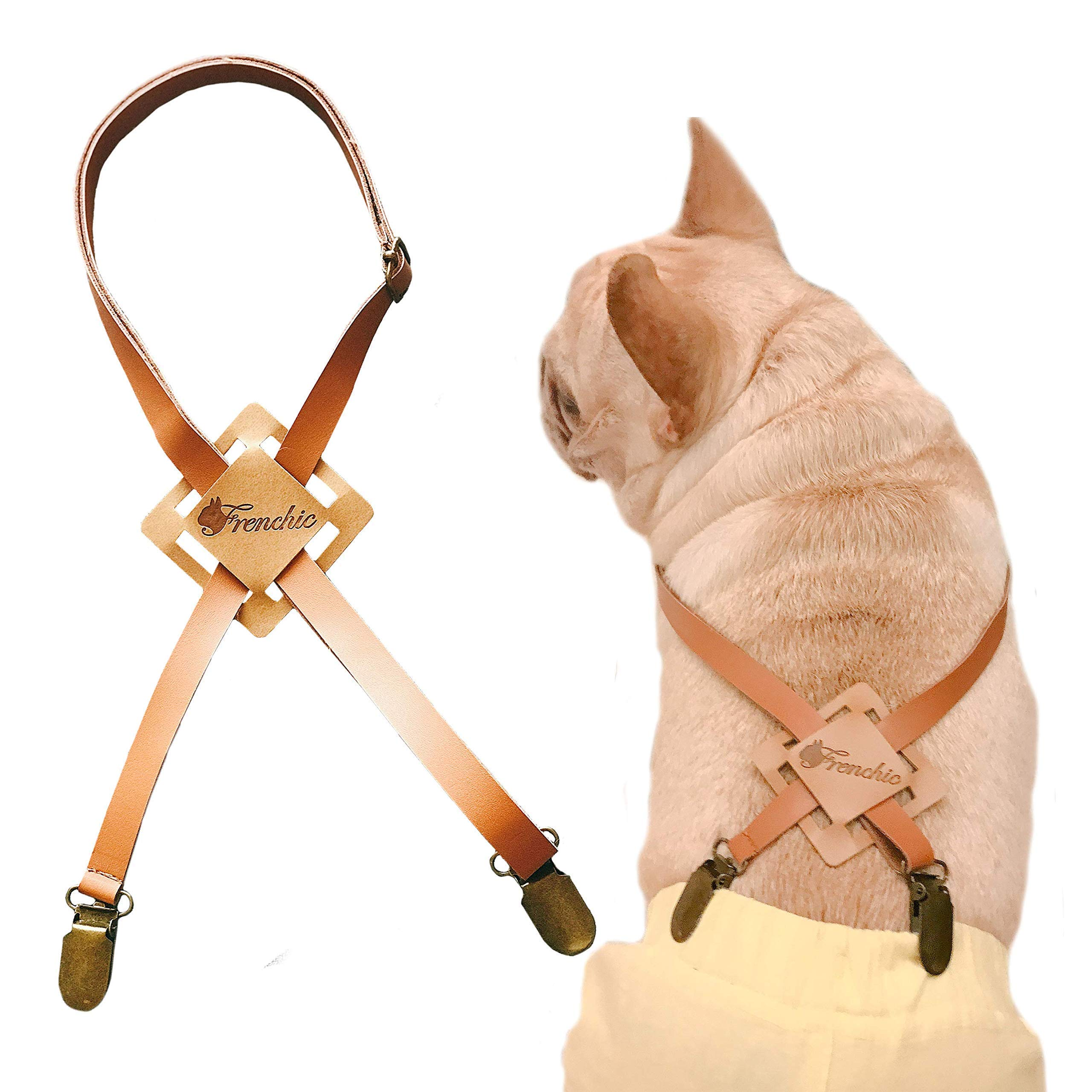 Frenchic Pet ® Handmade Suspender for Diapers Pants Dog Belly Bands