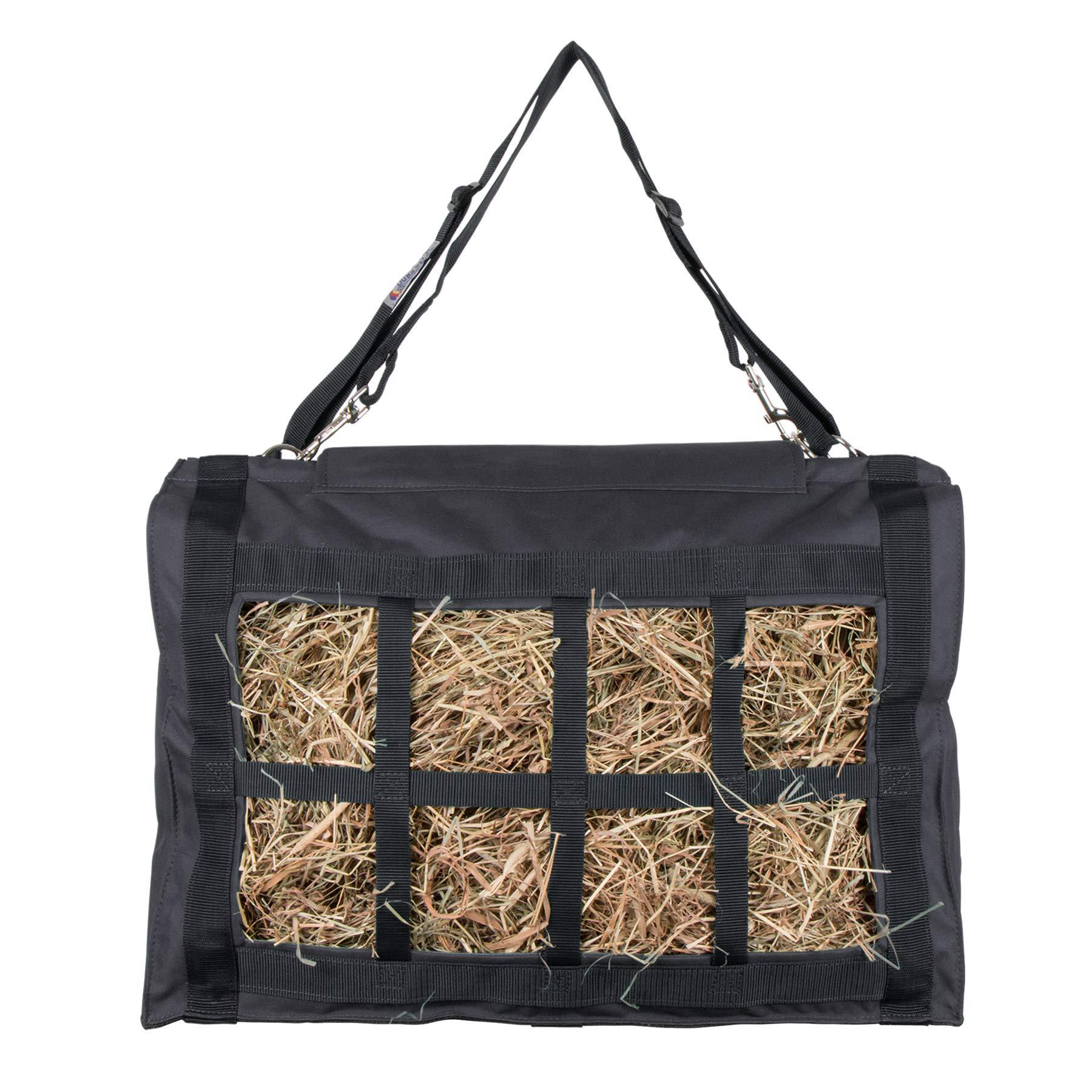Dura-Tech XL Reinforced Top Hay Saver Bag (Black)