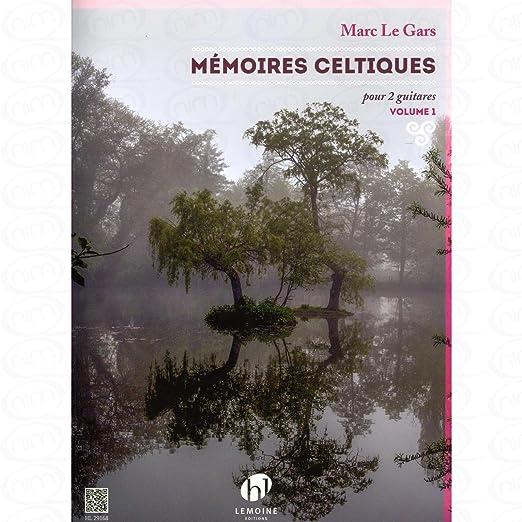 Memoires celtiques 1 - arrangiert für zwei Gitarren [Noten/Sheetmusic] Komponist : Gars Marc le