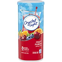 Crystal Light Fruit Punch Drink Mix (72 Pitcher Packets, 12 Packs of 6)