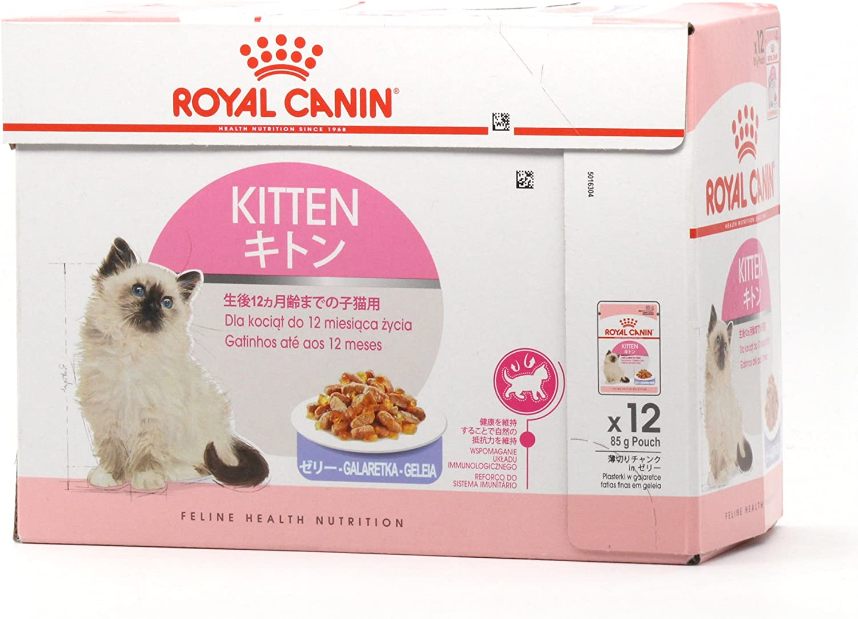 Pienso Húmedo Kitten Instinctive en gelatina 12x85gr Royal Canin
