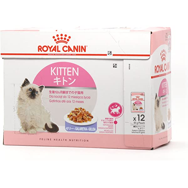 Pienso Húmedo Kitten Instinctive en gelatina 12x85gr Royal ...