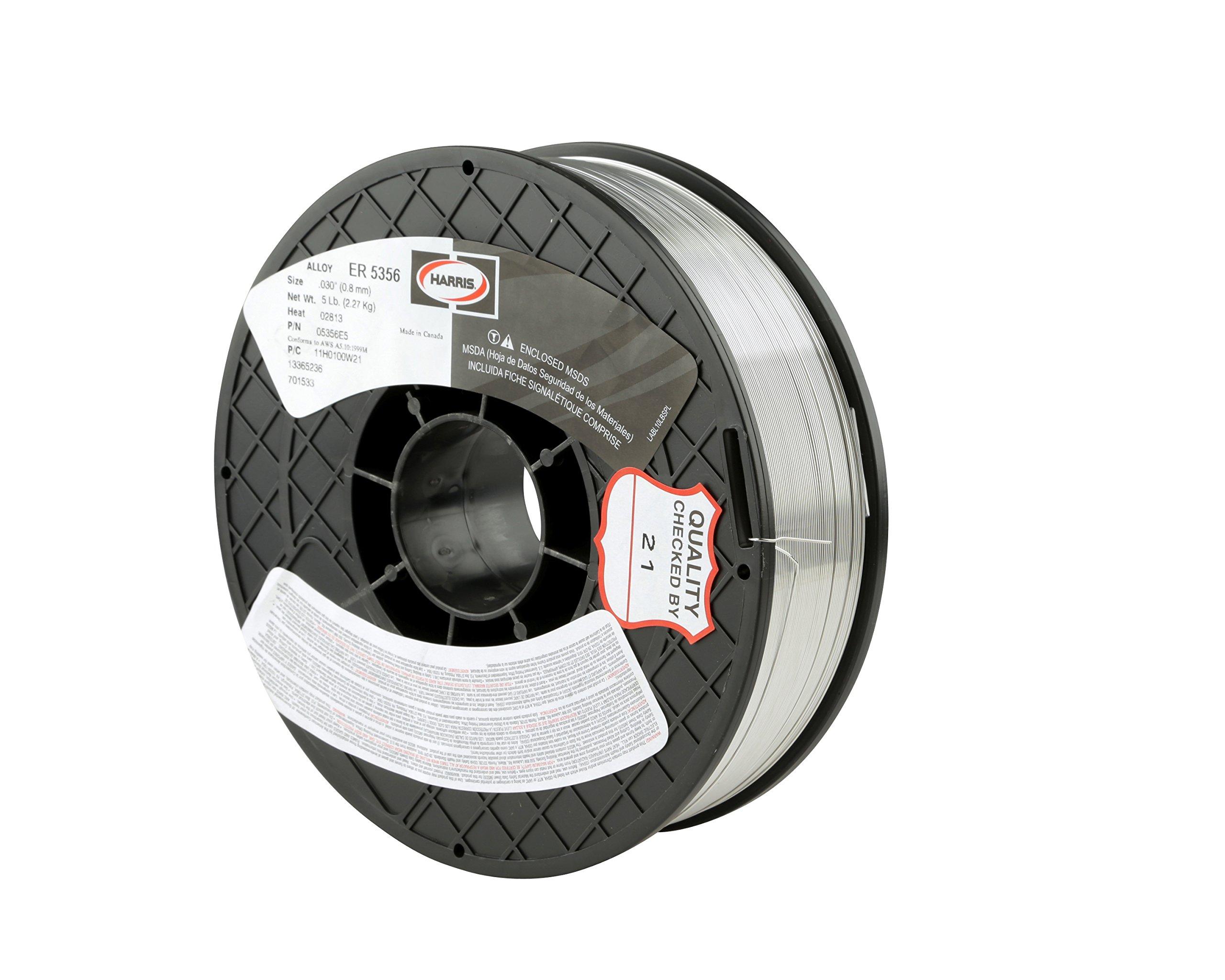 Harris 0535629 5356 Aluminum MIG Welding Wire, 3/64'' x 20 lb. Spool