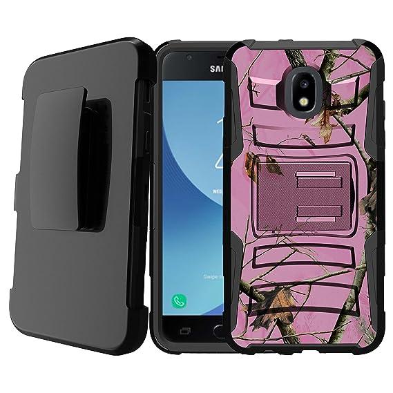 wholesale dealer 56452 36a50 Untouchble | Camo Case for Samsung Galaxy J7 2018/ J7 Crown/ J7 Aura/ J7  Refine/ J7 Eon/ J7 Aura [Heavy Duty Clip] Shockproof Dual Layer Future  Armor ...