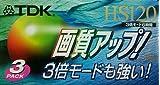 TDK VHSビデオテープHS120 3pack
